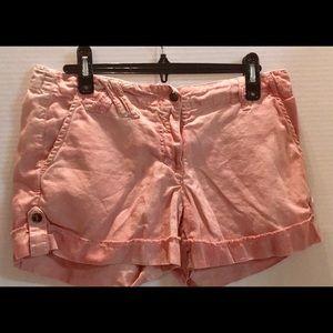 DA - NANG Surplus Cotton Pink Distressed SHORTS M